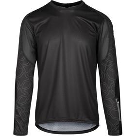 ASSOS Trail Maglia jersey a maniche lunghe Uomo, nero